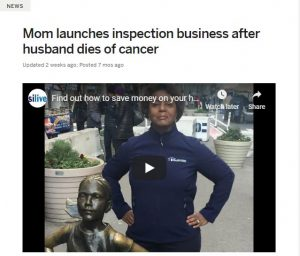 Article - Mom launches inspection business after husband dies of cancer
